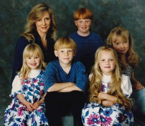 Tay Ashton and Children